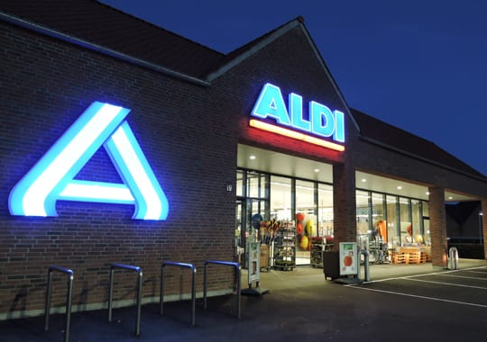 ALDI Haderslev - centrum