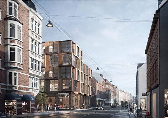 New project on Amagerbrogade in København